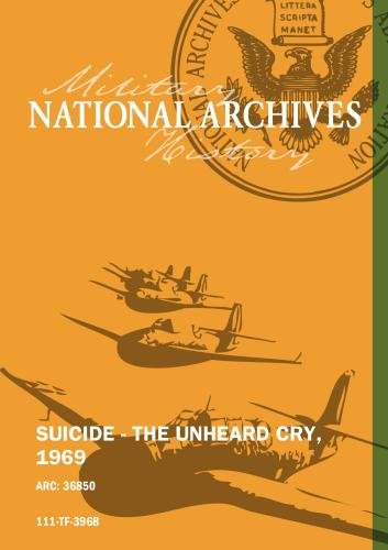 SUICIDE - THE UNHEARD CRY, 1969