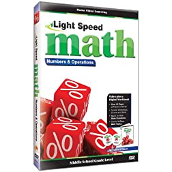 Light Speed Math-Numbers & Operations