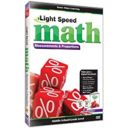 Light Speed Math-Measurement & Proportions