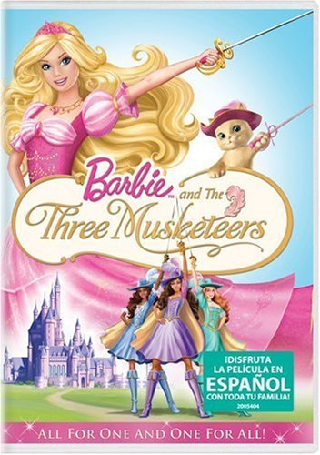Barbie and the Three Musketeers (Spanish)