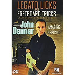 Legato Licks and Fretboard Tricks: John Denner Instructional Guitar DVD