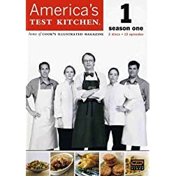 America's Test Kitchen: The Complete 1st Season