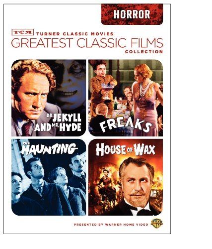 TCM Greatest Classic Films Collection: Horror (House of Wax 1953 / The Haunting 1963 / Freaks / Dr. Jekyll and Mr. Hyde 1941)