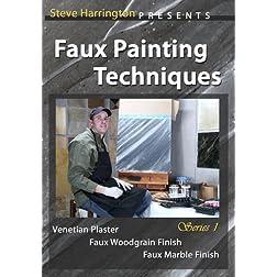 Faux Painting Techniques - Series 1