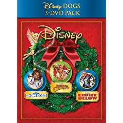 Disney Dogs Holiday 3-Pack (Snow Dogs