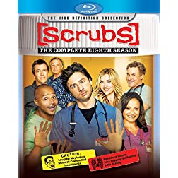 Scrubs: The Complete Eighth Season [Blu-ray]