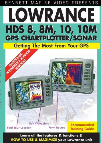 Lowrance HDS 8, 8m, 10, 10m, GPS Chartplotter/Sonar
