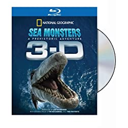 National Geographic: Sea Monsters - A Prehistoric Adventure (In 3-D) [Blu-ray]