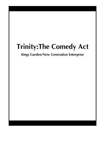 Trinity:The Comedy Act