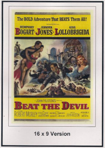 Beat The Devil: 16x9 Widescreen TV.