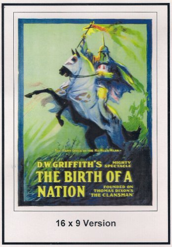 The Birth Of A Nation: 16x9 Widescreen TV.