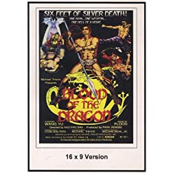 Blood Of The Dragon 16x9 Widescreen TV.