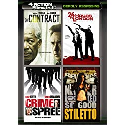 4 Movies in 1: Deadly Assassins (2pc)