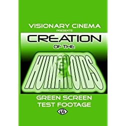 CREATION OF THE HUMANOIDS - GREEN SCREEN TEST