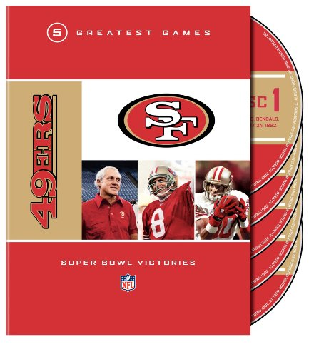 NFL: San Francisco 49ers - 5 Greatest Games: Super Bowl Victories