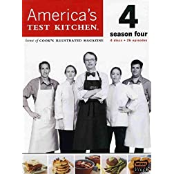 America's Test Kitchen: The Complete 4th Season