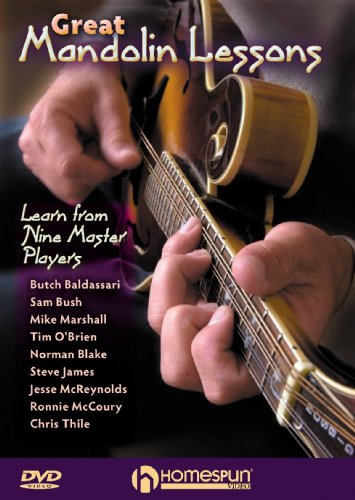 Great Mandolin Lessons-Learn From Nine Master Players