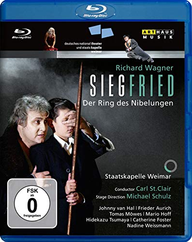 Wagner: Siegfried / St. Clair, Staatskapelle Weimar (St. Clair Ring Cycle Part 3) [Blu-ray]