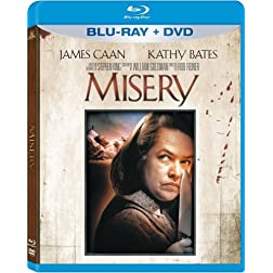 Misery [Blu-ray/DVD] [Blu-ray]