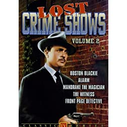 Lost Crimes Shows, Vol. 2