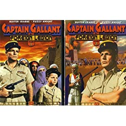 Captain Gallant of the Foreign Legion, Vols. 1 & 2