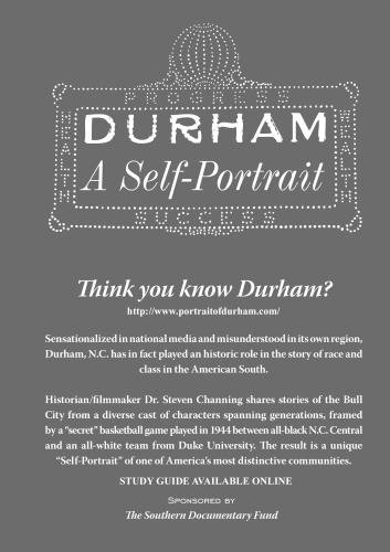 Durham - A Self Portrait