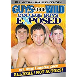 Guys Gone Wild: College Boys Exposed - Platinum Ed