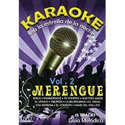 Karaoke: MERENGUE Volume 2