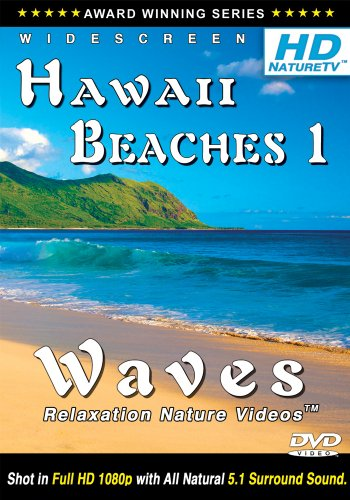 HD NATURE TV: BEST HAWAII BEACHES 1 / WAVES Relaxation Nature Videos DVD