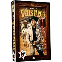 Tales of Wells Fargo - Starring Dale Robertson - 6 DVD SET!