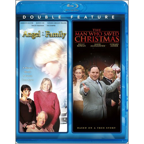 Angel in the Family & Man Who Saved Christmas [Blu-ray]
