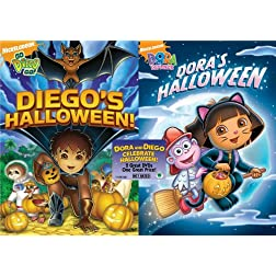 Dora the Explorer: Dora's Halloween/Go Diego Go!: Diego's Halloween