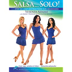 Salsa...Solo! Dance instruction for beginners with Yesenia Adame