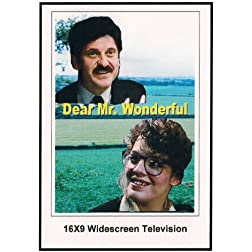 Mr. Wonderful 16x9 Widescreen TV.