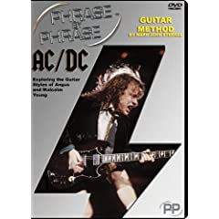 Phrase by Phrase Guitar Method AC/DC - Exploring the Guitar Styles of Angus and Malcolm Young