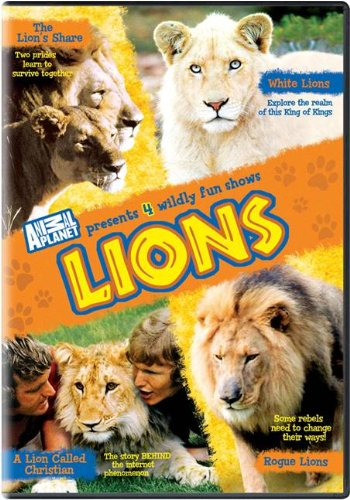 Lions: The Lion's Share / White Lions / A Lion Called Christian / Rogue Lions