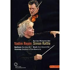 Berliner Philharmoniker/Vadim Repin/Simon Rattle: Beethoven/Bruch/Stravinsky