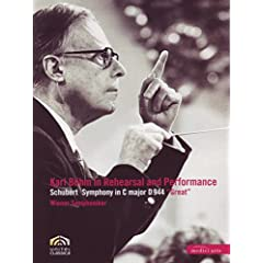 """Karl Bohm in Rehearsal and Performance: Schubert Symphony in C Major, D. 944 """"The Great"""""""