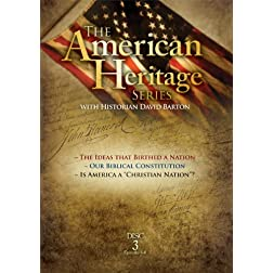 American Heritage Series, Vol. 3: The Ideas that Birthed a Nation, Our Biblical Constitution, Is America a Christian Nation?