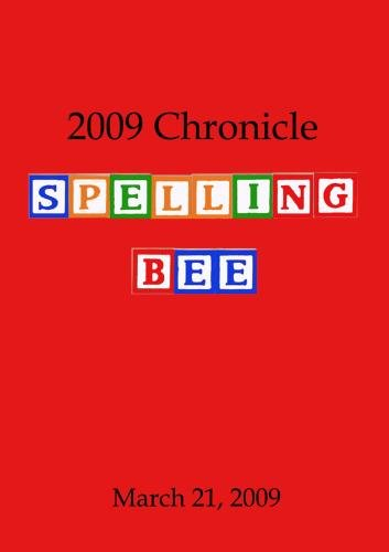 2009 Chronicle Spelling Bee
