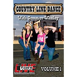 Live at Broadway Dance Center - Country Line Dance with Summyr Whaley