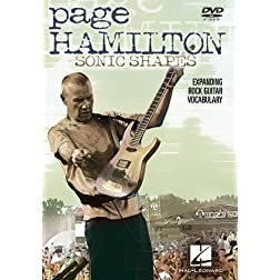 Page Hamilton - Sonic Shapes: Expanding Rock Guitar Vocabulary DVD