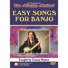 Mel Bay presents The Murphy Method Easy Songs for Banjo