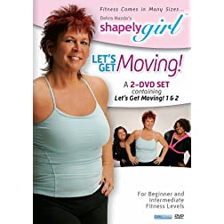 Shapelygirl: Let's Get Moving 2 DVD Set