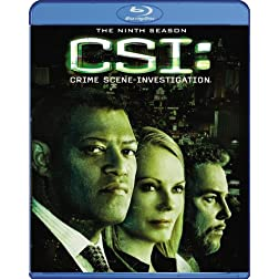 CSI: Crime Scene Investigation - The Ninth Season [Blu-ray]