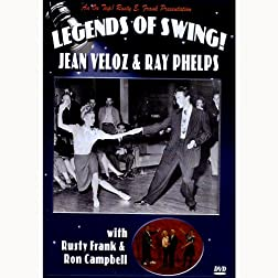 Legends of Swing! Jean Veloz & Ray Phelps with Rusty Frank & Ron Campbell