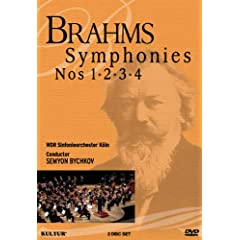 Brahms: Symphonies Nos. 1, 2, 3 & 4 / West German Radio Symphony