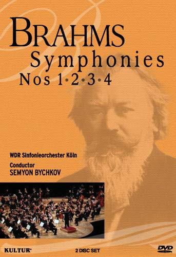 Brahms: Symphonies Nos. 1, 2, 3 & 4 / West German Radio Symphony