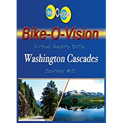 Bike-O-Vision Cycling DVD Journey #21 Washington Cascades