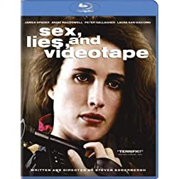 Sex, Lies, and Videotape [Blu-ray]
